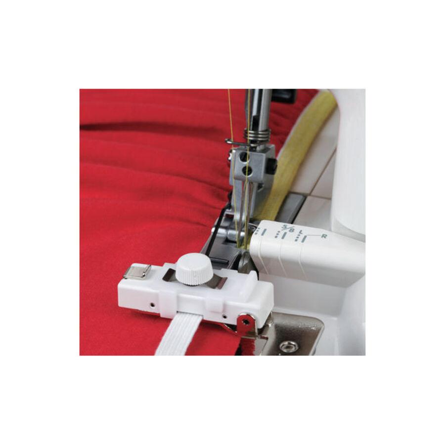 Приспособление Janome для пришивания резинки на оверлоке, 200-218-102