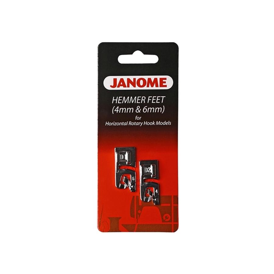 Лапка Janome для подрубки (4 и 6 мм), 200-326-001